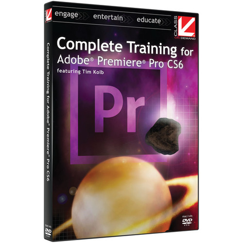 Class on Demand Training Video (Streaming On Demand): Complete Training for Adobe Premiere Pro CS6