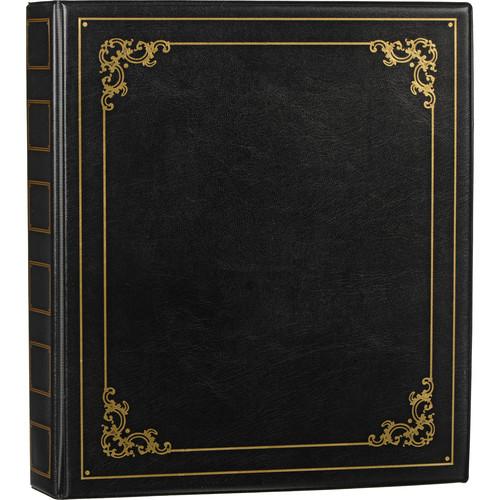 Luxury Photo Album: ClearFile Luxury Oversize Unpadded Album (Black) 840000D B&H