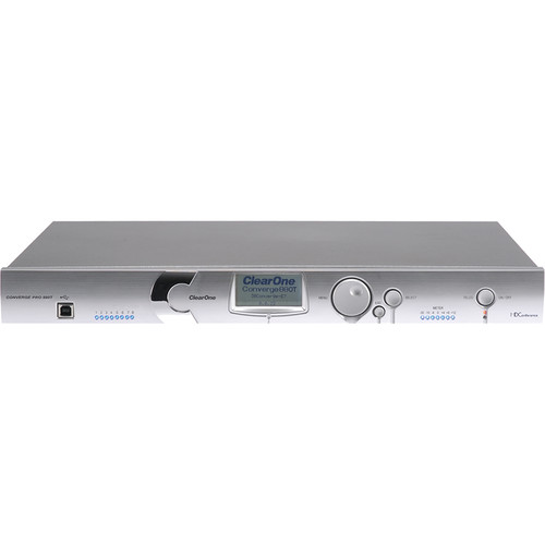 ClearOne CONVERGE Pro 880T Professional Conferencing System with Telephone Interface & Speaker Amplifier