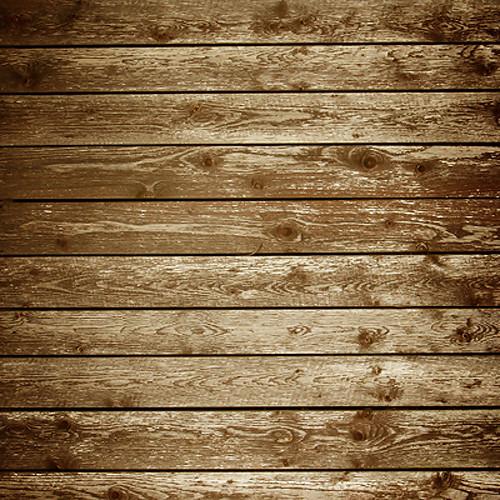 Click Props Backdrops Vintage Wooden Backdrop (5 x 5')
