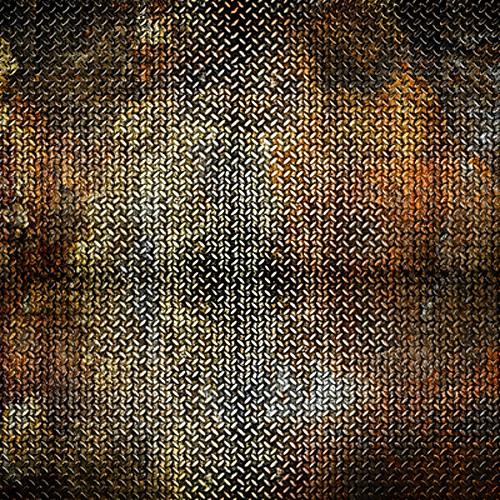 Click Props Backdrops Metal Rust Backdrop (5 x 5')