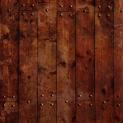 Click Props Backdrops Floor Wood Studs Stained Dark Backdrop (5 x 5')