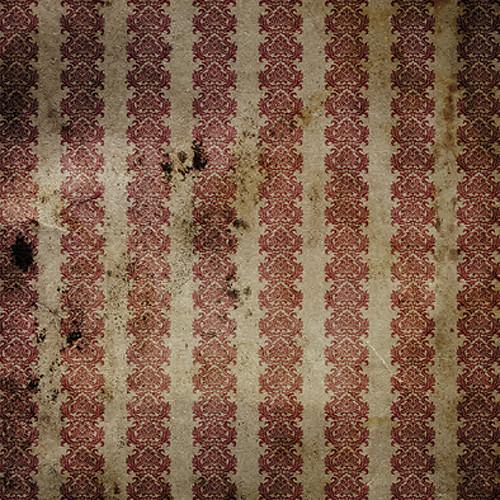 Click Props Backdrops Crimson Gold Backdrop (5 x 5')