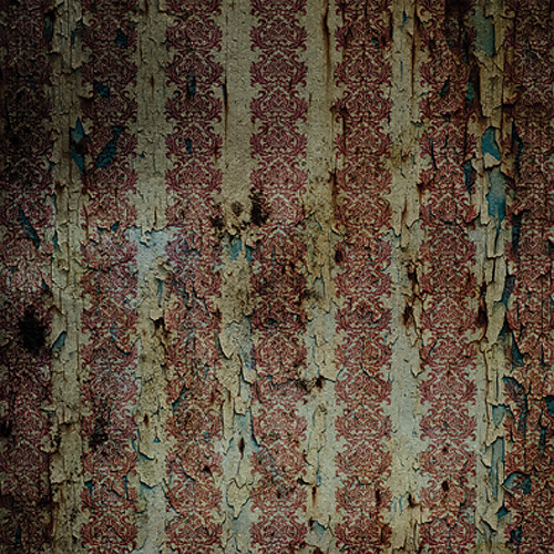 Click Props Backdrops Crimson Gold Distressed Backdrop (5 x 5')