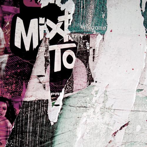 Click Props Backdrops Newspaper Wall Pink Backdrop (5 x 5')
