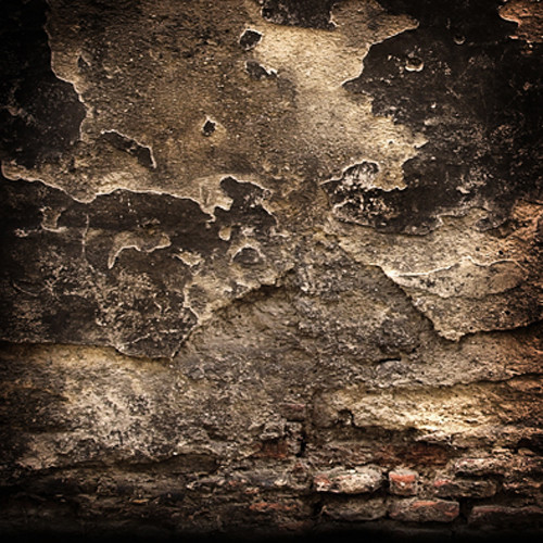 Click Props Backdrops Ancient Wall Backdrop (5 x 5')