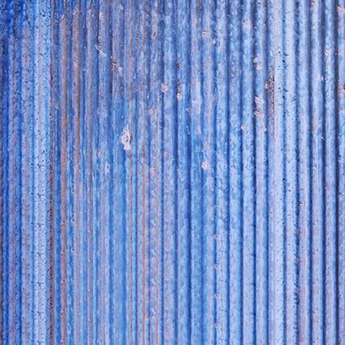 Click Props Backdrops Blue Corrugated Sheet Backdrop (5 x 5')