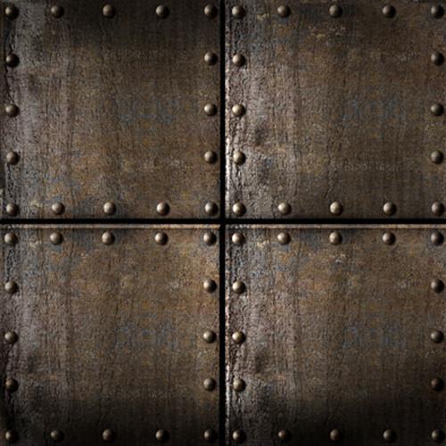 Click Props Backdrops Rusty Steel Cubes Backdrop (5 x 5')