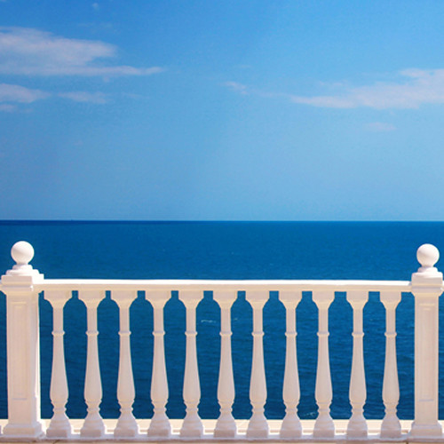 Click Props Backdrops Sea View Backdrop (5 x 5')