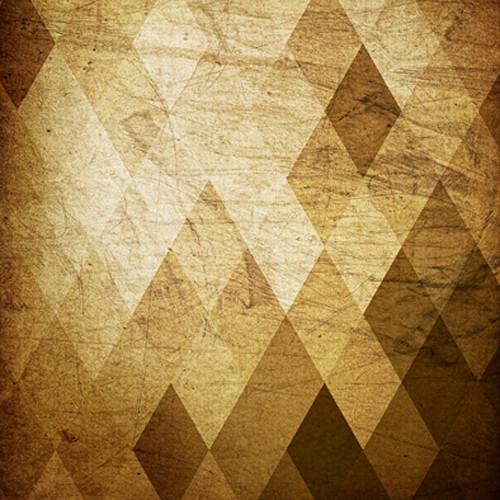 Click Props Backdrops Brown Diamonds Backdrop (5 x 5')