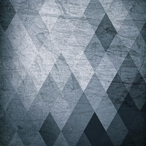 Click Props Backdrops Grey Diamonds Backdrop (5 x 5')
