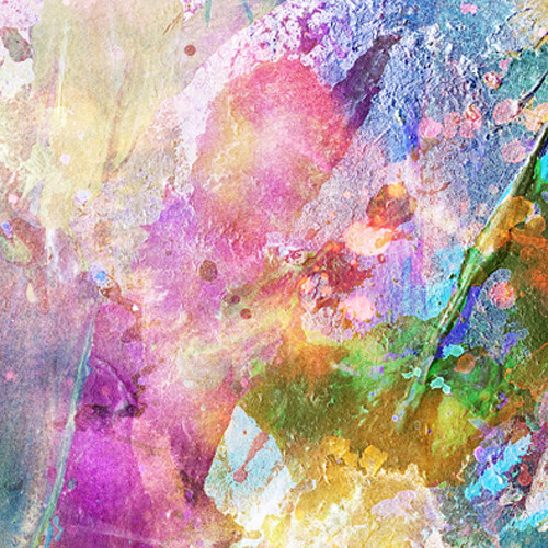 Click Props Backdrops Paint Splash Backdrop (5 x 5')