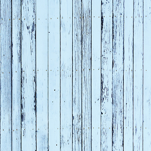 Click Props Backdrops Blue Beach Wood Backdrop (5 x 5')