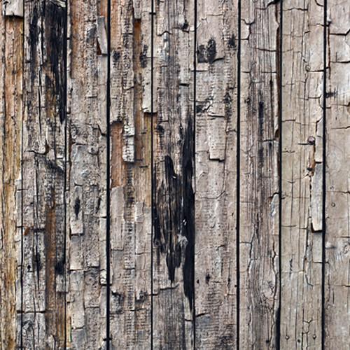 Click Props Backdrops Rustic Wood Backdrop (5 x 5')