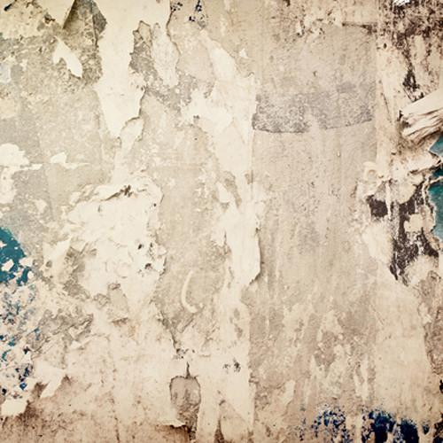 Click Props Backdrops Smashed Blue Plaster Backdrop (5 x 5')
