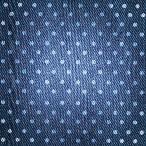 Click Props Backdrops Denim Dots Blue Backdrop (5 x 5')