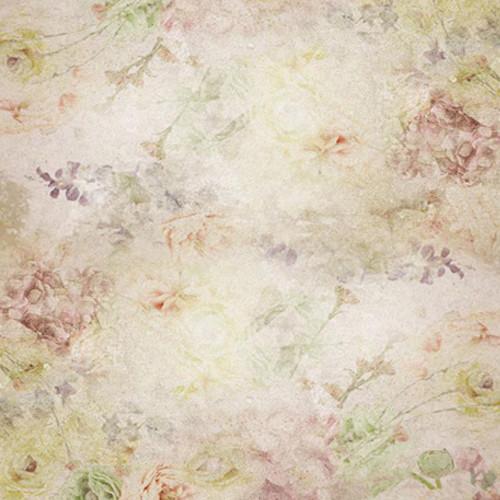 Click Props Backdrops Floral Watercolour Backdrop (5 x 5')