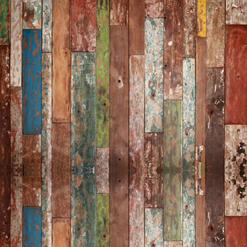 Click Props Backdrops Driftwood Backdrop (5 x 5')
