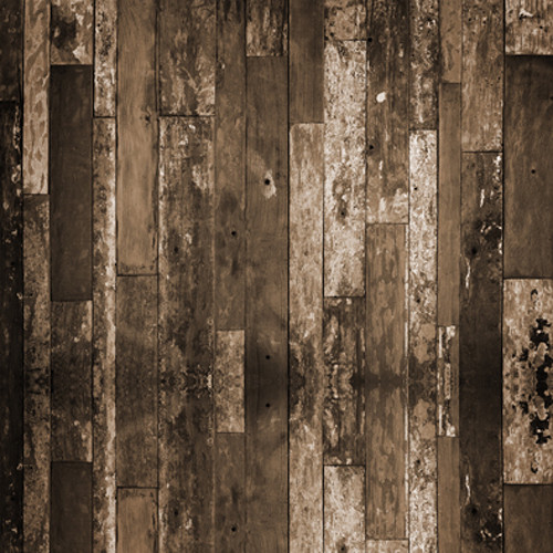 Click Props Backdrops Sepia Driftwood Backdrop (5 x 5')