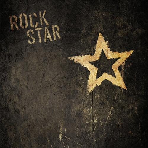 Click Props Backdrops Rock Star Backdrop (5 x 5')