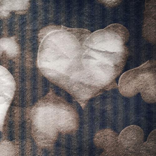 Click Props Backdrops Falling Hearts Backdrop (5 x 5')