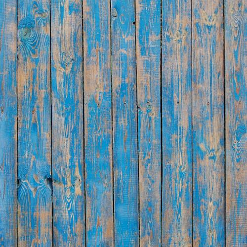 Click Props Backdrops Blue Decking Backdrop (5 x 5')