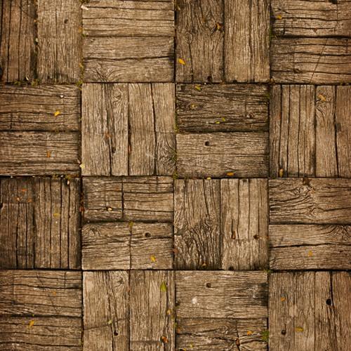 Click Props Backdrops Parquet Flooring Backdrop (5 x 5')