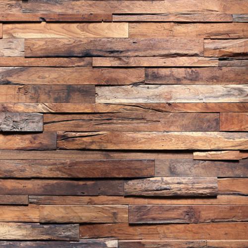 Click Props Backdrops Timber Wall Backdrop (5 x 5')