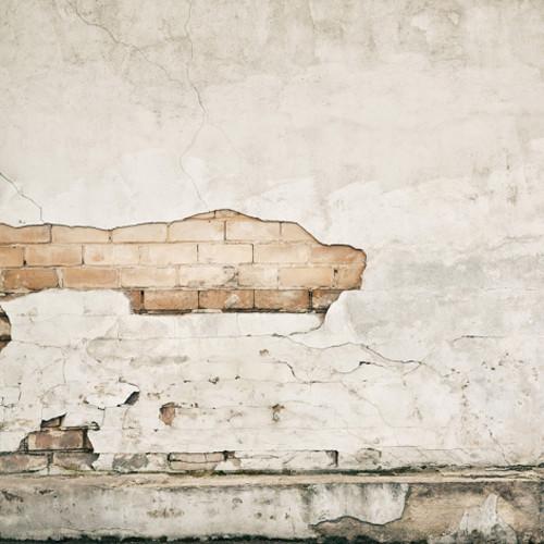 Click Props Backdrops Crumbling Plaster Wall Backdrop (5 x 5')