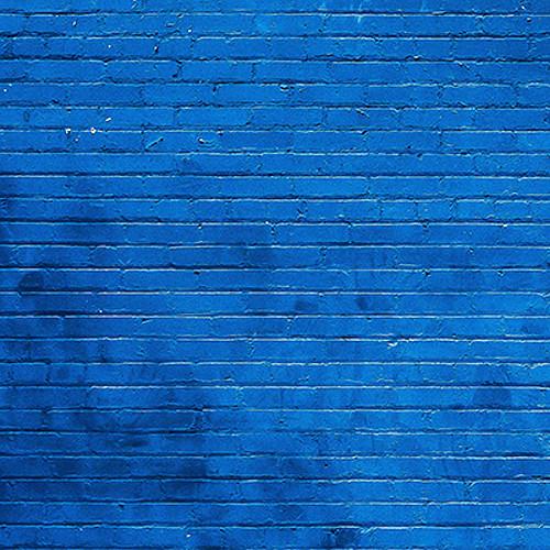 Click Props Backdrops Blue Brick Backdrop (5 x 5')