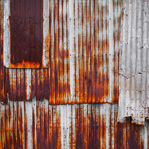 Click Props Backdrops Rusty Shack Backdrop (5 x 5')