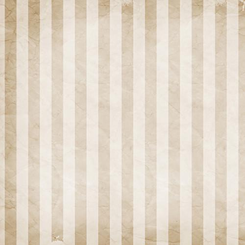 Click Props Backdrops Cream Stripe Backdrop (5 x 5')