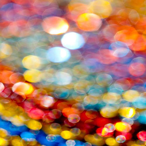 Click Props Backdrops Rainbow Bokeh Backdrop (5 x 5')