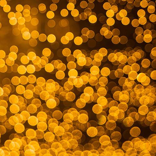 Click Props Backdrops Golden Bokeh Backdrop (5 x 5')