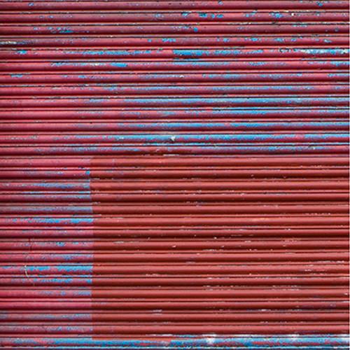 Click Props Backdrops Metallic Red Shutter Backdrop (5 x 5')