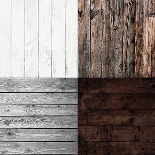 Click Props Backdrops Quad Wood Backdrop (5 x 5')