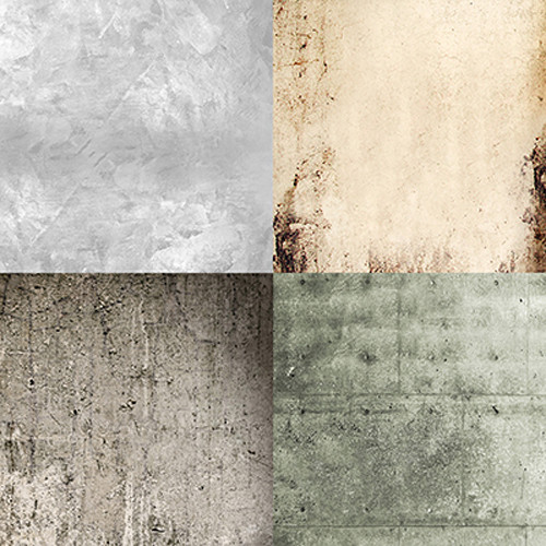 Click Props Backdrops Quad Stone Backdrop (5 x 5')