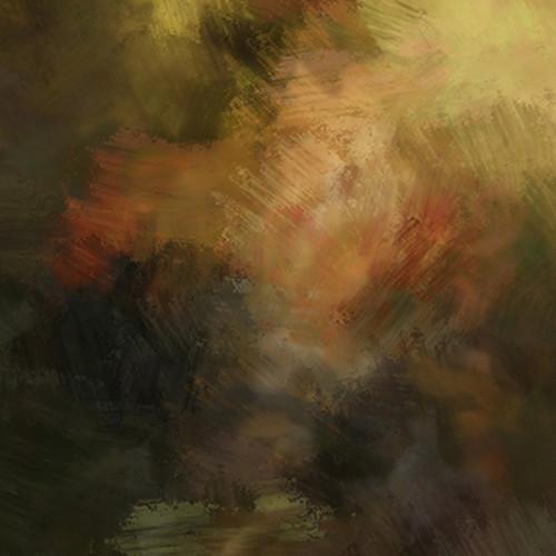Click Props Backdrops Brushstroke Master Brown Backdrop (5 x 5')