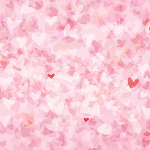 Click Props Backdrops Valentine Hearts Backdrop (5 x 5')