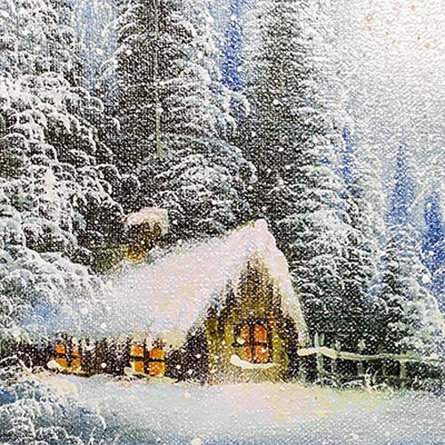 Click Props Backdrops Winter Canvas Backdrop (5 x 5')