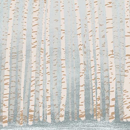 Click Props Backdrops Winter Trees Backdrop (5 x 5')