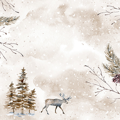 Click Props Backdrops Reindeer Backdrop (5 x 5')
