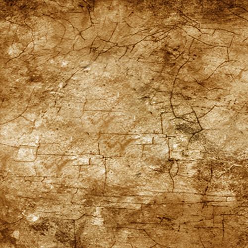 Click Props Backdrops Cracks Brown Backdrop (5 x 5')