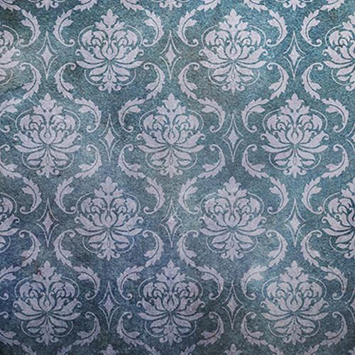 Click Props Backdrops Metallic Gray Damask Backdrop (5 x 5')