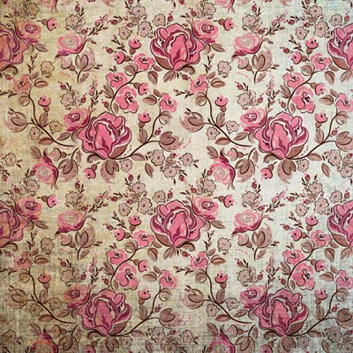 Click Props Backdrops Rose Distressed Backdrop (5 x 5')