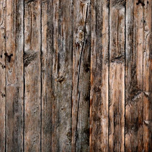 Click Props Backdrops Wood Vertical Natural Backdrop (5 x 5')