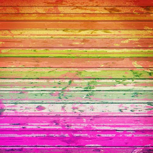 Click Props Backdrops Rainbow Backdrop (5 x 5')