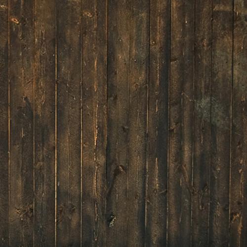 Click Props Backdrops Grunge Brown Wood Backdrop (5 x 5')