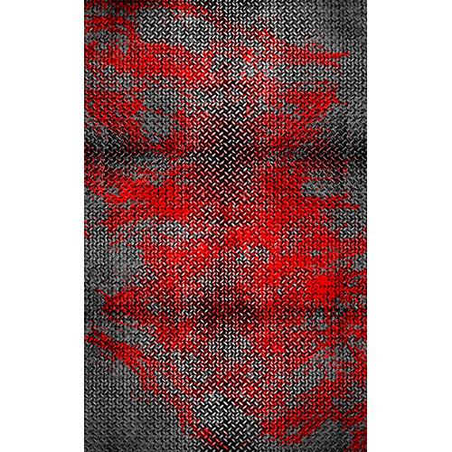 Click Props Backdrops Metal Red Backdrop (5 x 8')