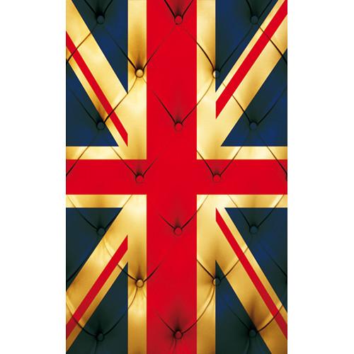 Click Props Backdrops Union Jack Buttons Backdrop (5 x 8')
